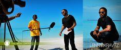 More Lenny Kravitz on Eleuthera Island