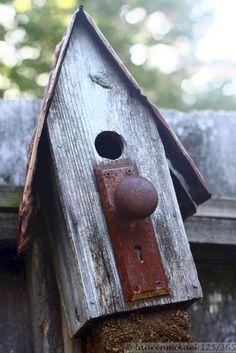 Bird House Kits Make Great Bird Houses Homemade Bird Houses, Bird Houses Diy, Building Bird Houses, Wooden Bird Houses, Bird House Plans, Bird House Kits, Bird House Feeder, Rustic Bird Feeders, Bird Aviary