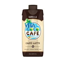 Vita Coco Cafe Latte, Vanilla, 11.1 Ounce (Pack of 12) - http://handygrocery.org/grocery-gourmet-food/beverages/coconut-water/vita-coco-cafe-latte-vanilla-111-ounce-pack-of-12-com/