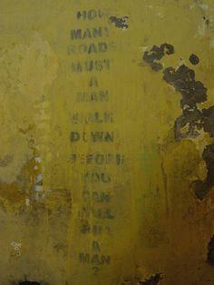 """Bob Dylan"" - Street Art"