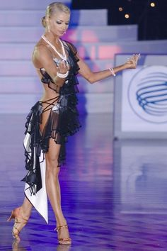 Yulia Zagoruychenko. Visit http://ballroomguide.com/workshop/latin.html for info about Latin workshops from the pros.
