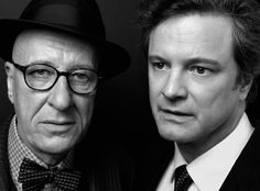 Geoffrey Rush and Colin Firth (by Peter Hapak)