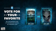 Vote For Your Favorite - XCOM 2 vs Bioshock: The Collection #Playstation4 #PS4 #Sony #videogames #playstation #gamer #games #gaming