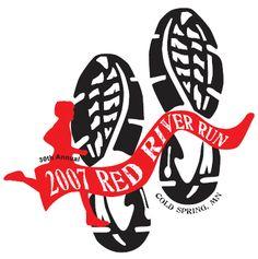 5k run logo