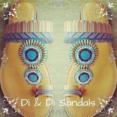 Di & Di Ethnic leather sandal
