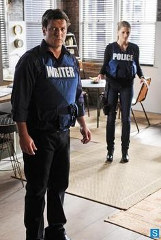 CASTLE - Still - Becketts life is on the line when she steps on a pressure sensitive bomb. While the team searches for a way to disarm the explosive, Castle distracts Beckett by arguing with her about who fell for whom first , on Castle,