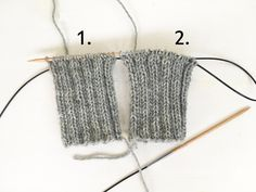 Sukat Magic Loop tekniikalla (Novita) Magic Loop, Knitted Hats, Socks, Crafty, Knitting, Crochet, Knits, Tricot, Breien