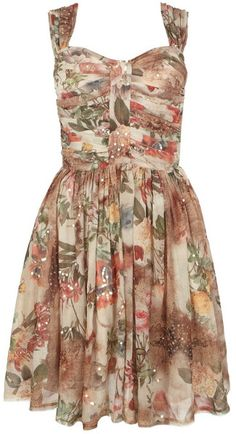 9a0a4a8df6a3 Love this  Porcelain Dress  Lyst Tea Dresses Uk