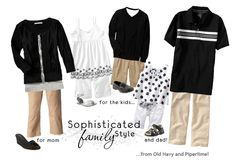 Sophisticated Family Photo Outfit Wardrobe Ideas