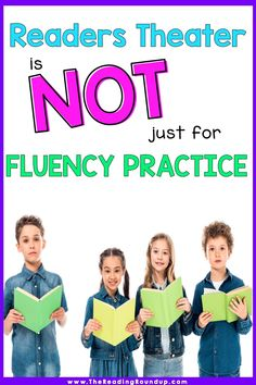 Reader's Theater is NOT Just for Fluency Practice - The Reading Roundup Teaching Reading Strategies, Guided Reading Activities, Fluency Activities, Guided Reading Groups, Comprehension Strategies, Vocabulary Activities, Reading Fluency, Reading Resources, Reading Skills