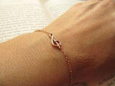 Rose Gold Bracelet by UESAtelier