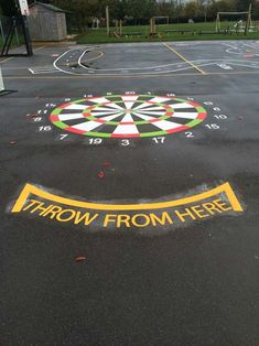 TMG002-DH-Dartboard-playground-marking