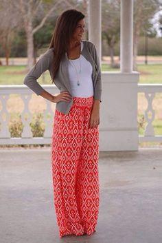 pants bright printed pants