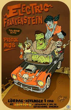 Electric Frankenstein Sweden by blitzcadet.deviantart.com on @deviantART