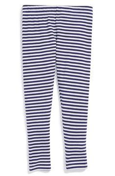 Tucker+++Tate+'Core'+Striped+Leggings+(Little+Girls)+available+at+#Nordstrom