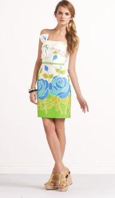 Kate Spade bed of roses contessa dress. $438 ~ I just saw this one and might NEED IT MUAAA!