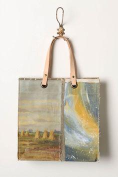 Original Still Life Bag, Haystacks  // Anthropologie