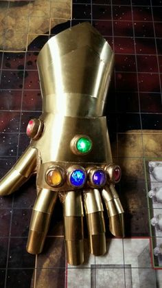 Cosplay Infinity Gauntlet by ForeFabrications on Etsy