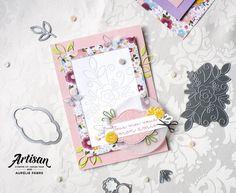 Artisan Design Team Blog Hop - Coin de Broderie - Stampin Up, Beautiful Handmade Cards, Needle And Thread, Needlepoint, Creations, Artisan, Nook Ideas, Catalogue, Embroidery