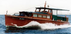 Classic Chris Craft wood boats - Boating on the Lower Colorado River