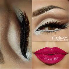 Motives®: Cut Crease Neutral Tutorial by Aurora Glez (+playlist) www.motivescosmetics.com/robertanicole