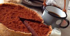 オーブン不要!! 焼かずにできちゃう濃厚な生チョコタルト♪ お豆腐生チョコ使用でヘルシーに!