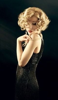Health Hair Care Advice To Help You With Your Hair. Do you feel like you have had way too many days where your hair goes bad? Pin Up, Retro Hairstyles, Wedding Hairstyles, Flapper Hairstyles, 1920s Hair Short, Gatsby Hair, Estilo Lolita, Tips Belleza, Hair Dos