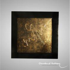Tableau doré en vente sur : http://www.chambaud-abstrait.com/home/159-tableau-dore-sarav.html