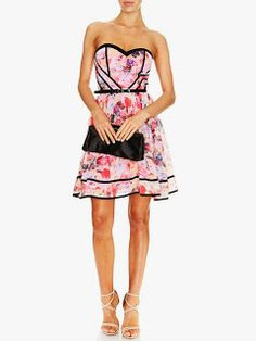 Will Hope Love Dress For church wedding style add a splash of colour with this new season printed bustier jump on board the lace trend with this lace and navy design #summer #style #fashion #dress #print #model #style