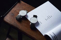 You don't see time flying by, you feel it. DOT Watch - The First Braille & Tactile Bluetooth Smartwatch in Silver Dezeen Watch Store, Braille, Graph Design, Any App, Mesh Band, Geek Gifts, Innovation Design, Smart Watch, Technology