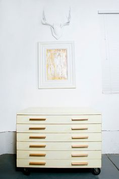 Like painting composition and colors too esp w/ wide, white wooden frame