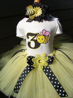Image result for girls bee birthday dress