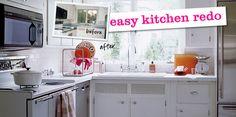 Easy Kitchen Redo