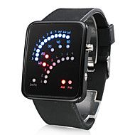 Men's Watch Digital 29 LED Red & Blue Light Black Silicone Strap. Get incredible discounts up to 80% Off at Light in the box using Coupon Codes.