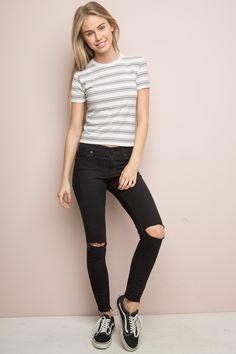 Brandy ♥ Melville   Jamie Top - Tops - Clothing