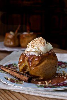 Receta de 'Manzanas asadas' de Pepekitchen para el blog 'A tu Gusto' de superSol. La mejor gastronomía :)