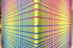 Immersive Vibrant Rainbow Cube Installation – Fubiz Media
