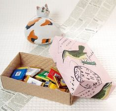 実用的な折り紙!小物入れとして使える長方形の箱の作り方(おりがみ)   ぬくもり