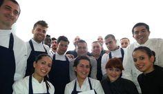 Roberto Ruiz y su equipo en Punto Mx, Madrid.