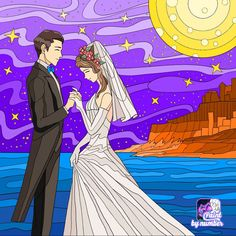 Paint By Number, Coloring Sheets, Colouring, Illustration, Anime, Art, Numbers, Paintings, Couple