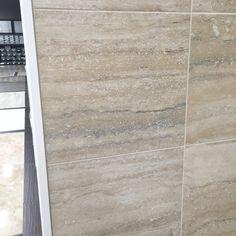 floor and decor travertini argento porcelain Kitchen Tiles, Bathroom Wall, Wall Tiles, Backsplash, Basement, Porcelain, Decor Ideas, Flooring, Home Decor