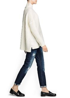 Zigzag mohair wool-blend sweater