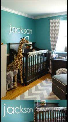 Esta cor para o quarto esta muito legal.