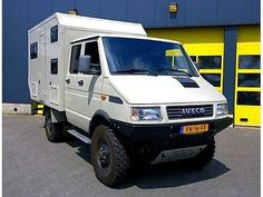 Iveco Daily 4x4 40.10 as a camper pickup in Valkenburg