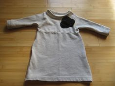 Coffee & Bananas: refashion: men's polo shirt to baby dress