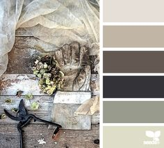 Rustic - inspiration pallet