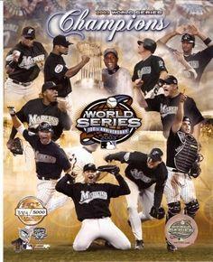 09bb77b7494 Florida Marlins 2003 World Series Champions 8x10 Photo Baseball Socks