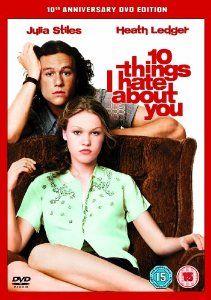 10 Things I Hate About You [DVD]: Amazon.co.uk: Julia Stiles, Heath Ledger, Joseph Gordon-Levitt, Larisa Oleynik, Larry Miller, Andrew Keegan, David Krumholtz, Susan Pratt, Gabrielle Union, Allison Janney, David Leisure, Gil Junger, Andrew Lazar: DVD & Blu-ray
