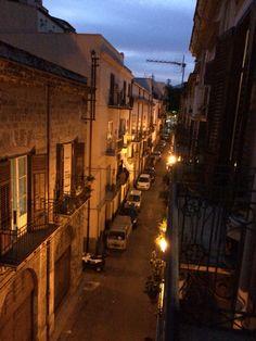 Via Porta di Castro a Palermo