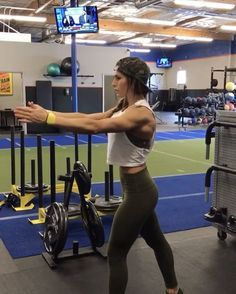 """10.9k Likes, 230 Comments - Alexia Clark (@alexia_clark) on Instagram: """"Mini Band Burn Out! 1. 15 reps each 2. 60seconds 3. 15 reps each arm 4. 60seconds 3-5 rounds!…"""""""